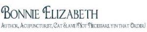 Bonnie Elizabeth, author, acupuncturist, cat slave